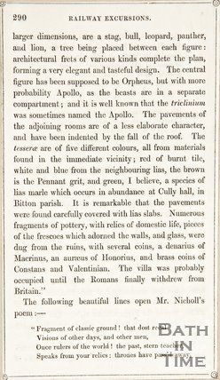 Page 290 from Rambles about Bath and its Neighbourhood, 1847