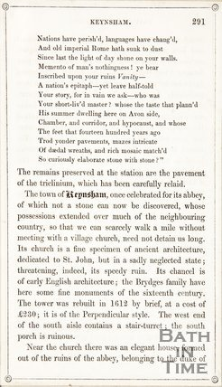 Page 291 from Rambles about Bath and its Neighbourhood, 1847