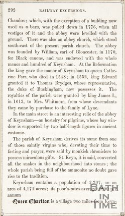 Page 292 from Rambles about Bath and its Neighbourhood, 1847