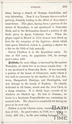 Page 293 from Rambles about Bath and its Neighbourhood, 1847