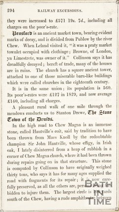 Page 294 from Rambles about Bath and its Neighbourhood, 1847