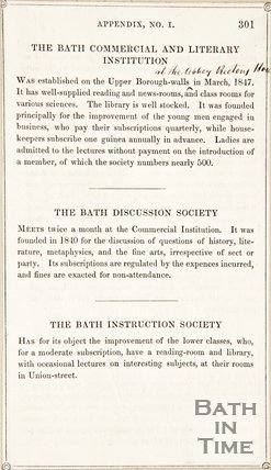 Page 301 from Rambles about Bath and its Neighbourhood, 1848