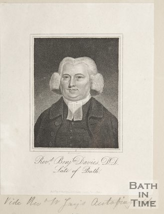 Portrait of Reverend Benjamin Davies D.D., 1810