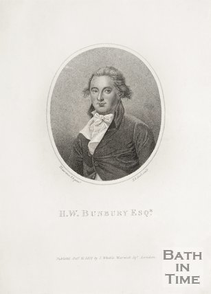 Portrait of H. W. Bunbury Esq, 1812