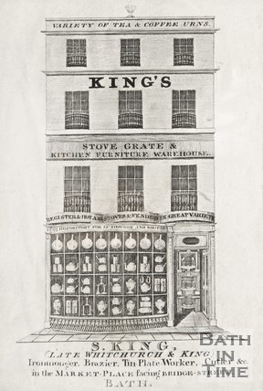 The premises of S. King Market Place, 1837