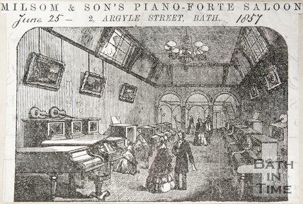 2, Argyle Street interior, 1857
