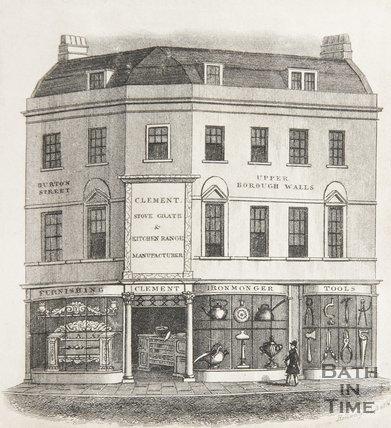 1, Burton Street Bath, 1835