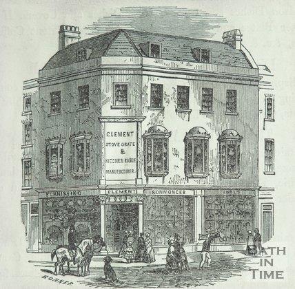 1, Burton Street Bath, 1840