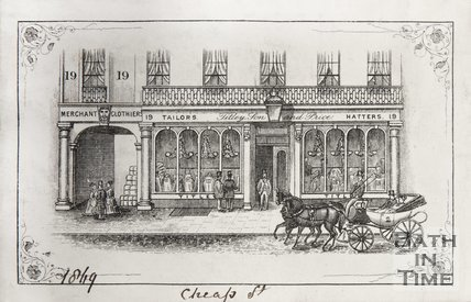 19, Cheap Street, 1865