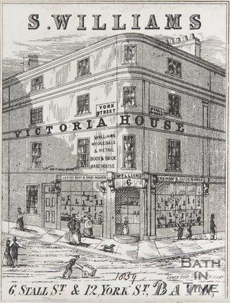 6, Stall Street, 1858
