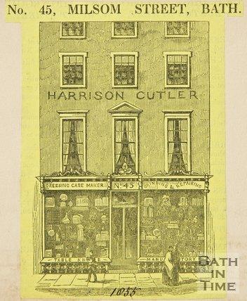 45, Milsom Street, 1855