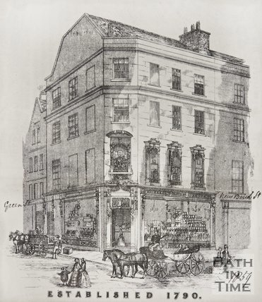 1, Bond Street corner of Green Street, 1858