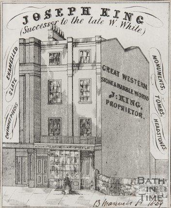 13, Manvers Street, 1858