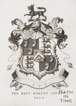Coat of Arms of the Reverend Lovett