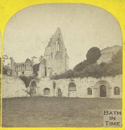 Dryburgh Abbey, Berwickshire c.1865