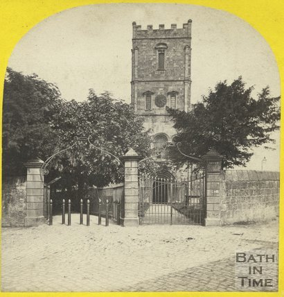 Chepstow Church, Monmouthshire c.1865