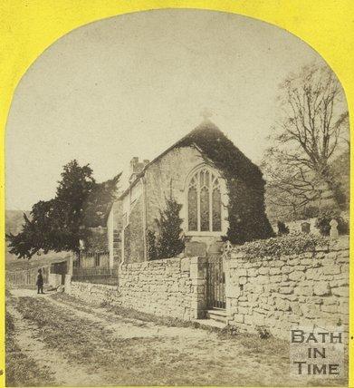 Charlcombe Church c.1865