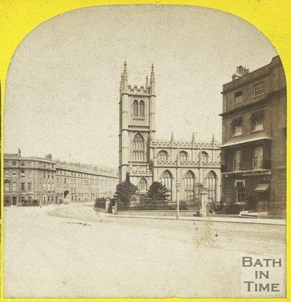 St. Mary's Church, Bathwick, Bath c.1865