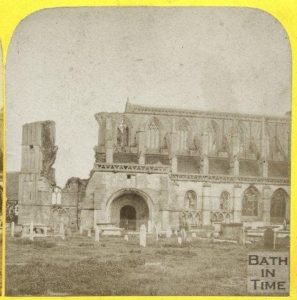 Malmesbury Abbey, Wiltshire c.1860