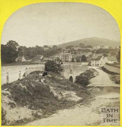The ford at Bathford, near Bath, c.1865