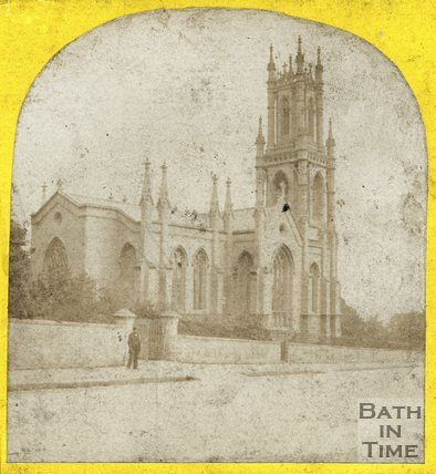 St Stephens Church, Lansdown, Bath, c.1860