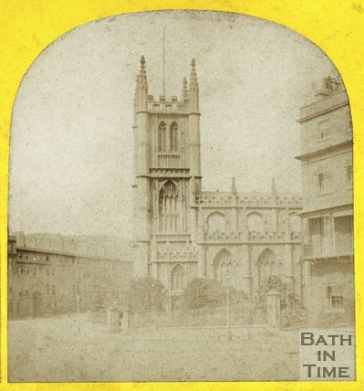 St. Mary's Church, Bathwick, Bath c.1863