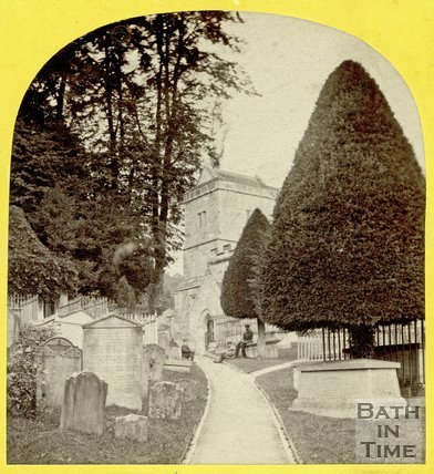 St. Mary's Church, Claverton 1863