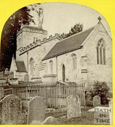 Claverton Church, Bath, August 1863