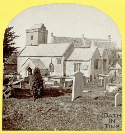St. Mary the Virgin Church, Swainswick 1863