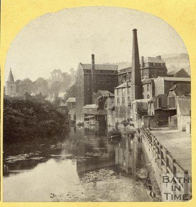 Kingston Mills, Bradford on Avon, Wiltshire, August 1863