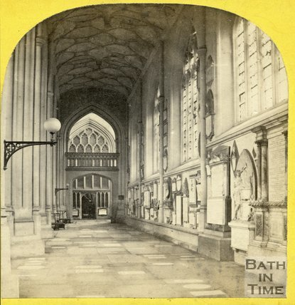 South Aisle, Bath Abbey, Bath c.1865