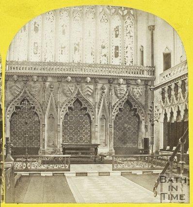 Interior of Bristol Cathedral c.1863