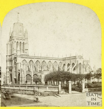 St Mary Redcliff Church, Bristol, c.1865