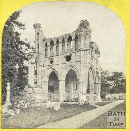 Sir Walter Scott's tomb, Dryburgh Abbey, Berwickshire c.1865