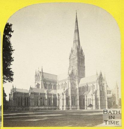 Salisbury Cathedral, Wiltshire c.1865