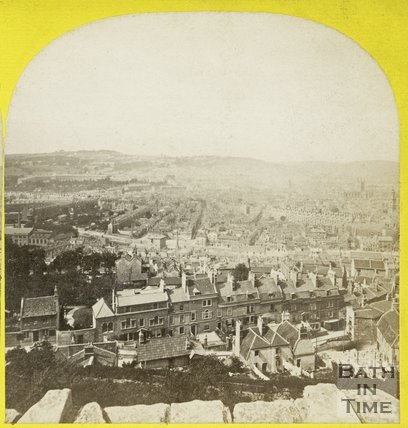 View of Bath from Beechen Cliff, c.1868