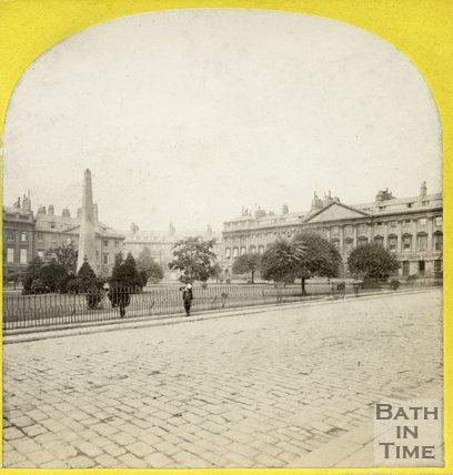 Queen Square, Bath c.1868