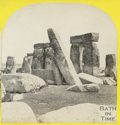 J And J Transport Stonehenge Stonehenge, Wiltshire c.1868 by 45909 at Bath in Time