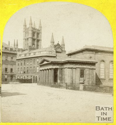 Bath Royal Literary and Scientific Institute, Terrace Walk, Bath c.1863