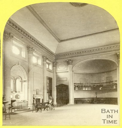 Interior of the Pump Room, Bath c.1865