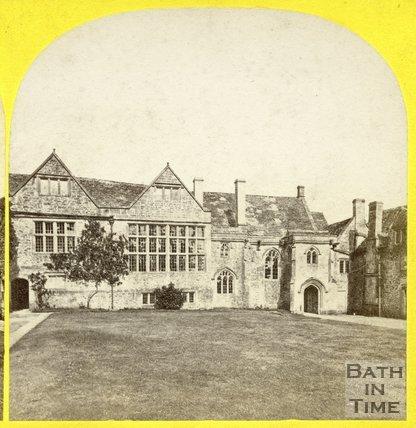Manor House, South Wraxall c.1865