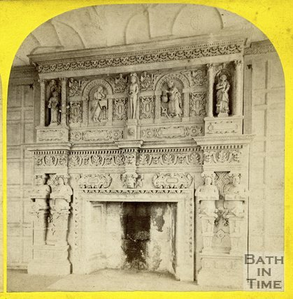 Fireplace, Manor House, South Wraxall c.1865