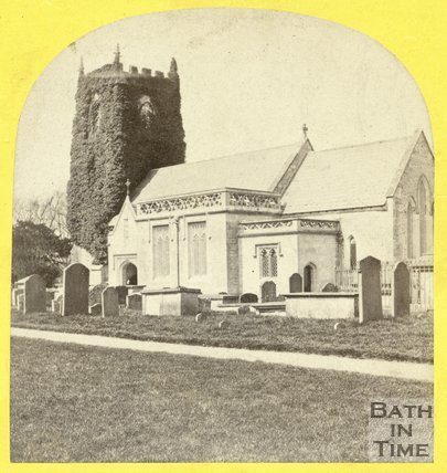 St. Nicholas Church, Bathampton 1863