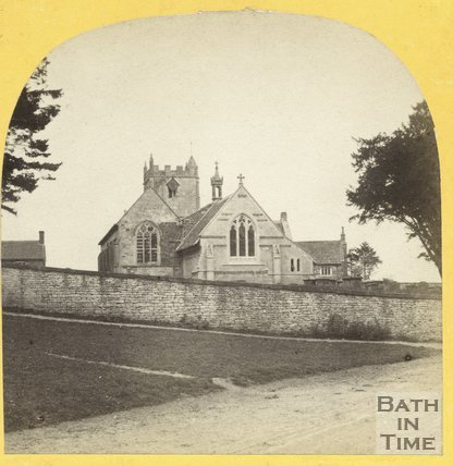 Nibley Church, Gloucestershire c.1865