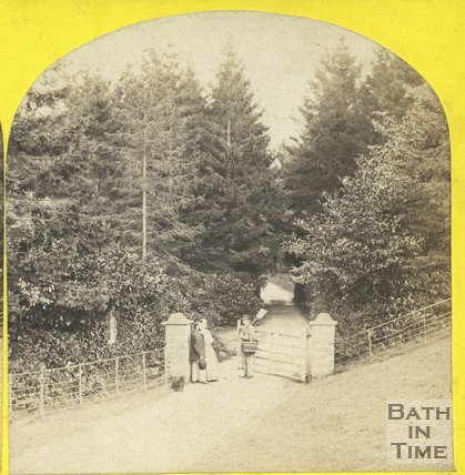 Entrance to an unidentified estate c.1865