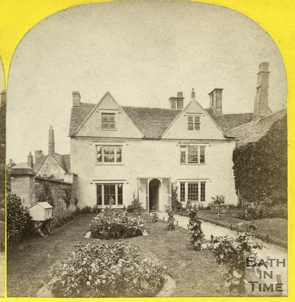 An unidentified house in the Bath area? c.1865