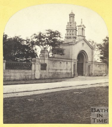 Entrance to Lansdown Cemetery and Beckford's Tower, Bath c.1870