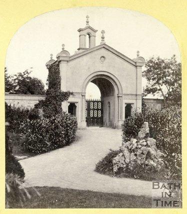 Entrance to Lansdown Cemetery, Bath c.1870