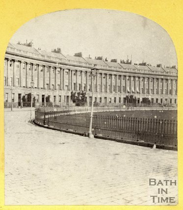 Royal Crescent, Bath c.1870