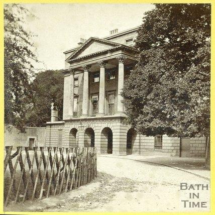 The Sydney Hotel now the Holburne Museum, Bath, c.1870